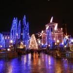 Ljubljana on Christmas eve